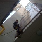 Lavaggio vetri e siliconatura